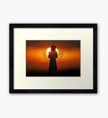Dawn of an Angel Framed Print