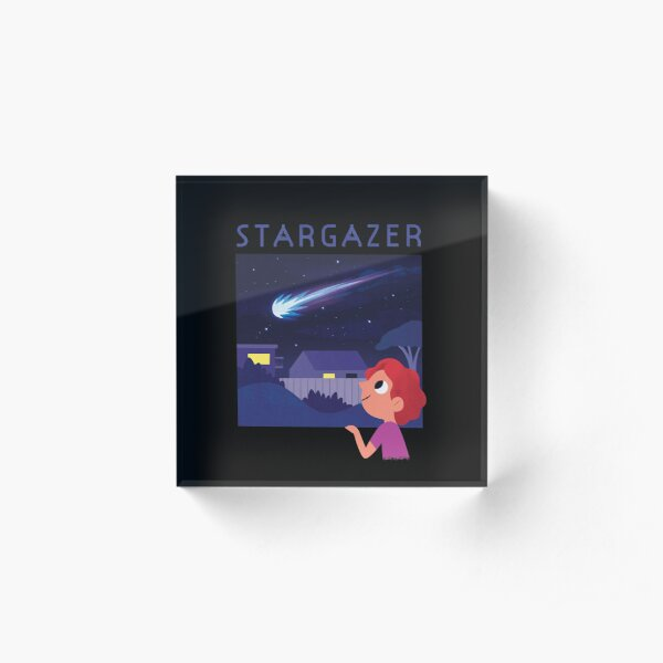 Stargazer Acrylic Block