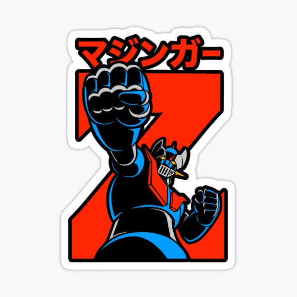 151 Mazinger Z Jap Sticker