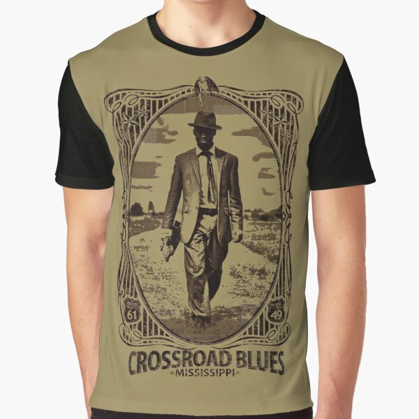 Crossroad Blues Graphic T-Shirt