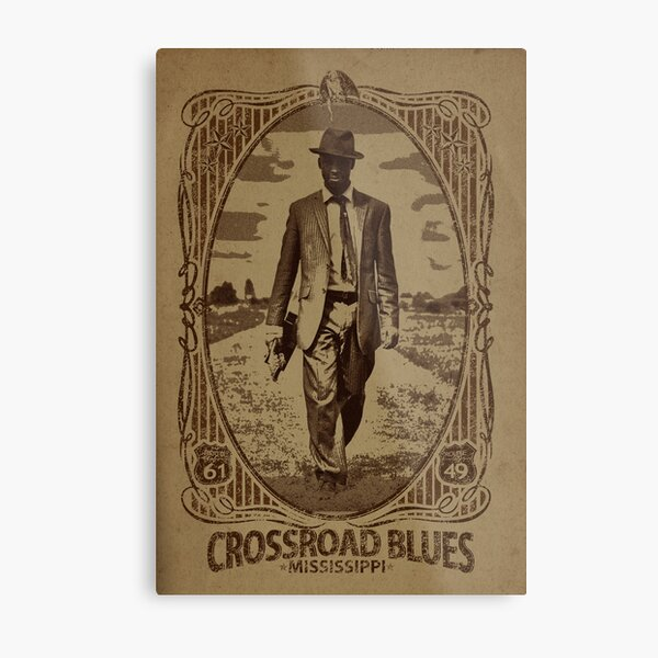 Crossroad Blues Metal Print