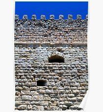 Fortification: Venetian castle (Koules), in Crete, Greece. Poster