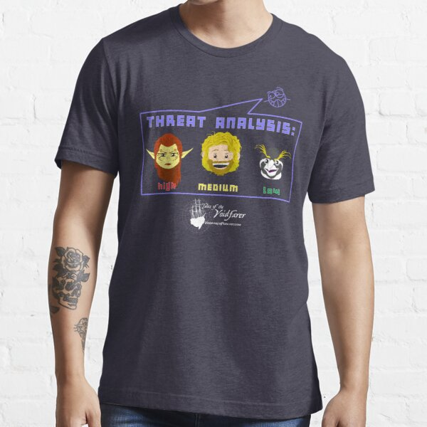 Tales of the Voidfarer: THREAT ANALYSIS  Essential T-Shirt