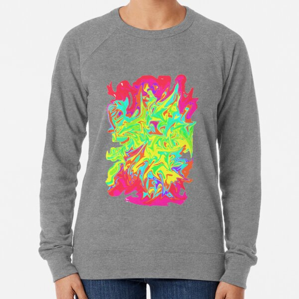 Swirly colours Lightweight Sweatshirt