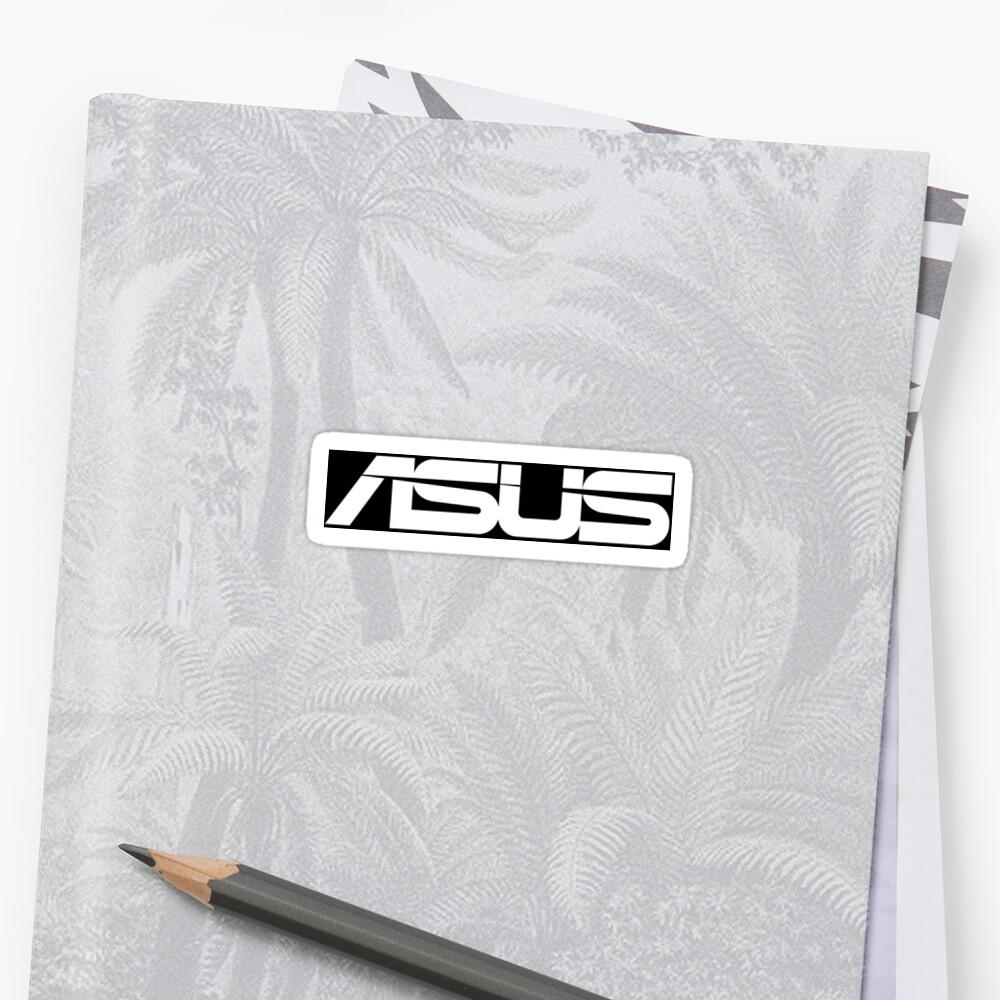 Asus Logo Black/White by Zwiebula