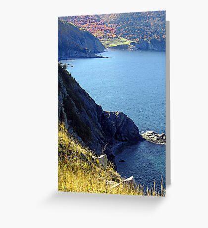 Cliffhanger Greeting Card