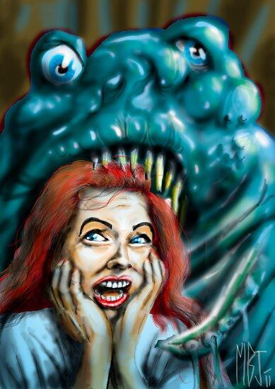 The Horrible Thing  by Matt Bissett-Johnson