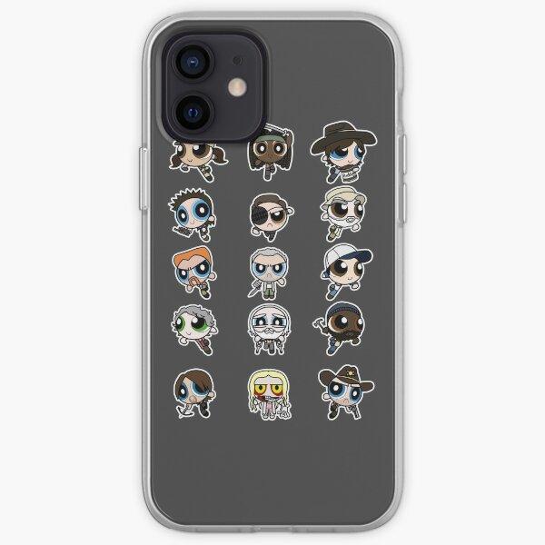 The Walking Dead Puffs Parody iPhone Soft Case