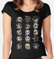 The Walking Dead Puffs Parody Women's Fitted Scoop T-Shirt
