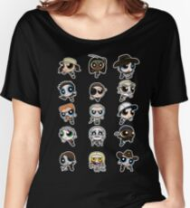 The Walking Dead Puffs Parody Women's Relaxed Fit T-Shirt