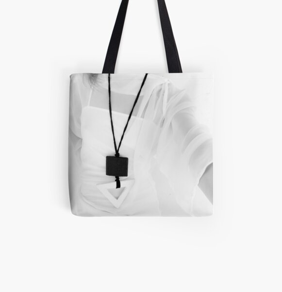 DUA BIG - a triangle hanging on a square - All Over Print Tote Bag