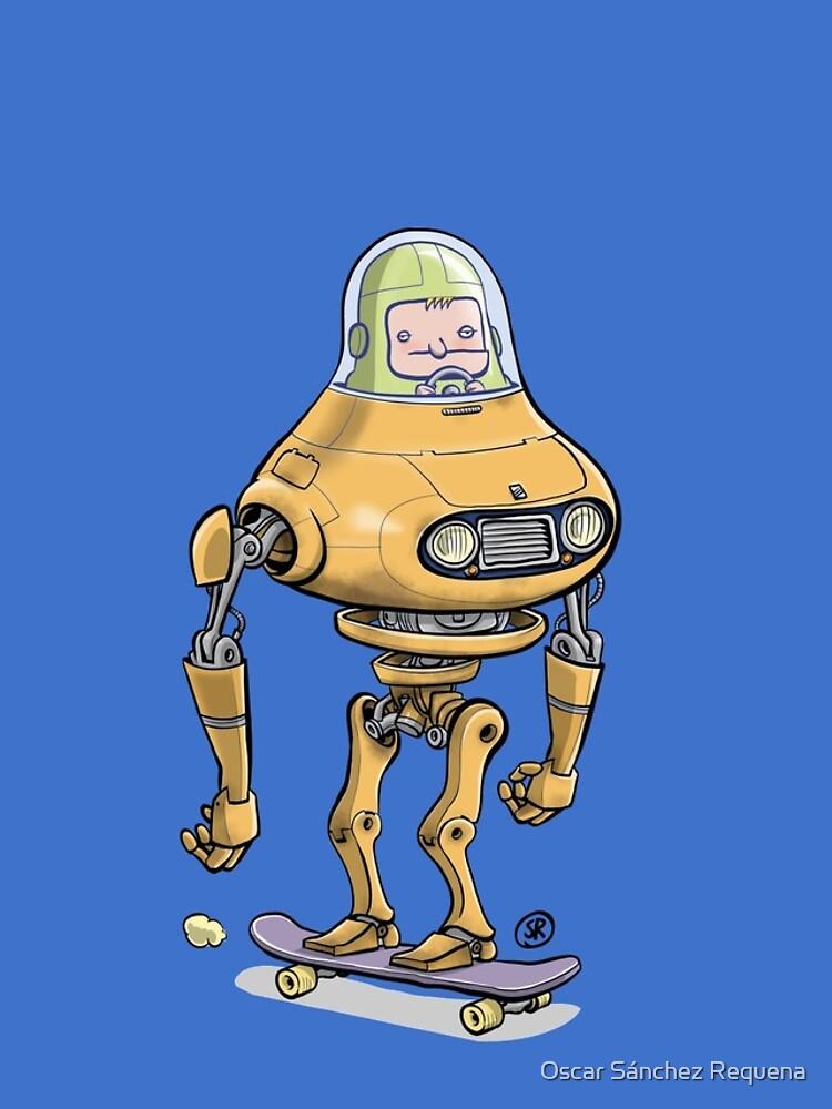 Skateboard robot by oscarsanchez