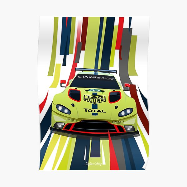Aston Martin Vantage GTE Poster