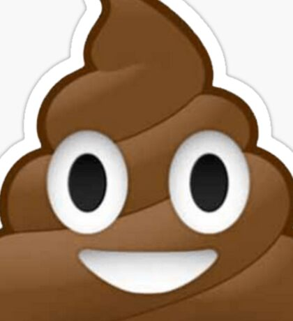 Poop Emoji !  Sticker