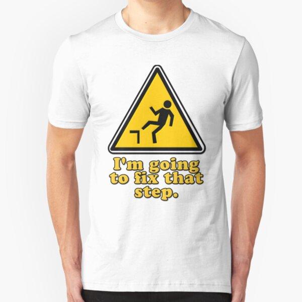 Ich werde diesen Schritt beheben Slim Fit T-Shirt
