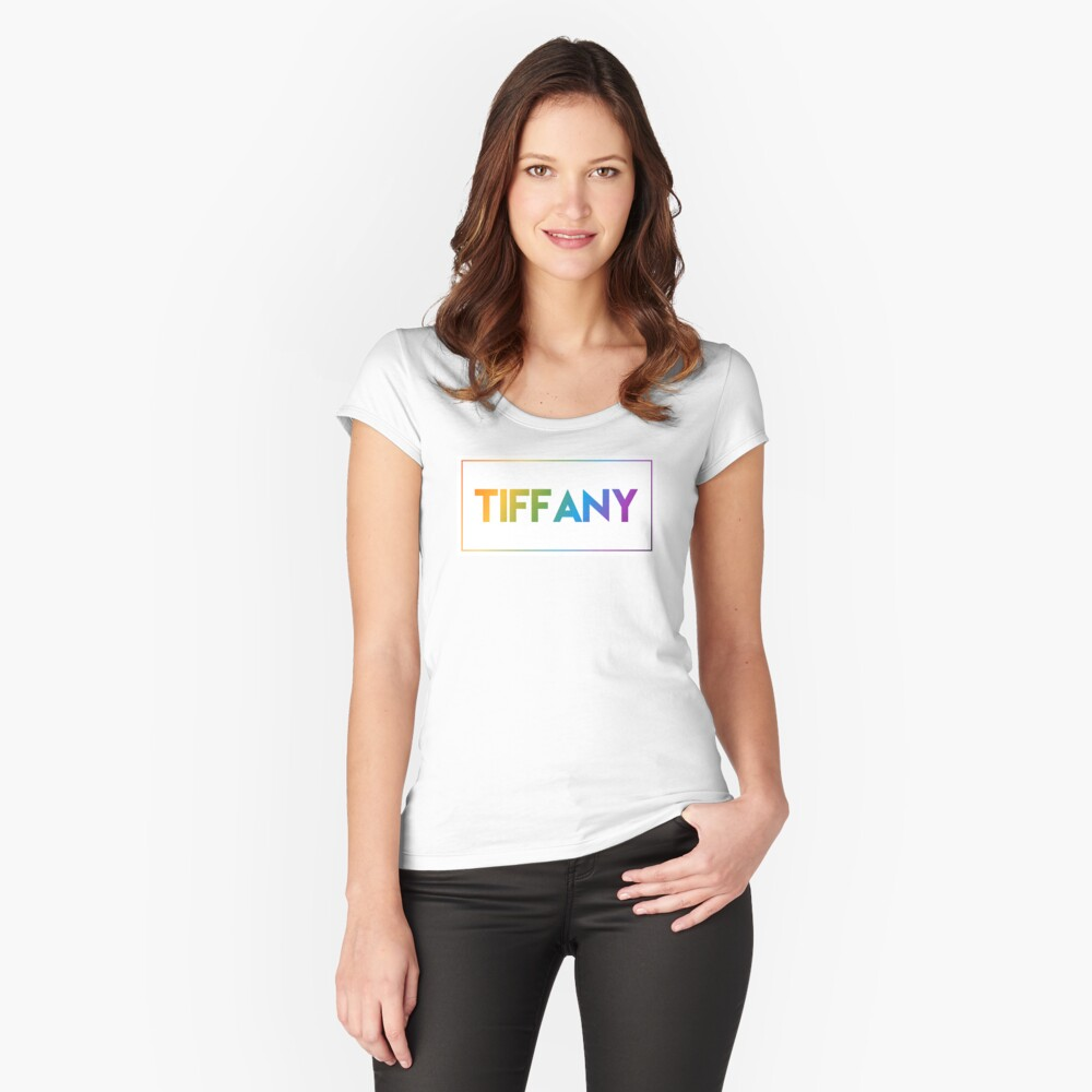 Tiffany - Pride Edition Fitted Scoop T-Shirt