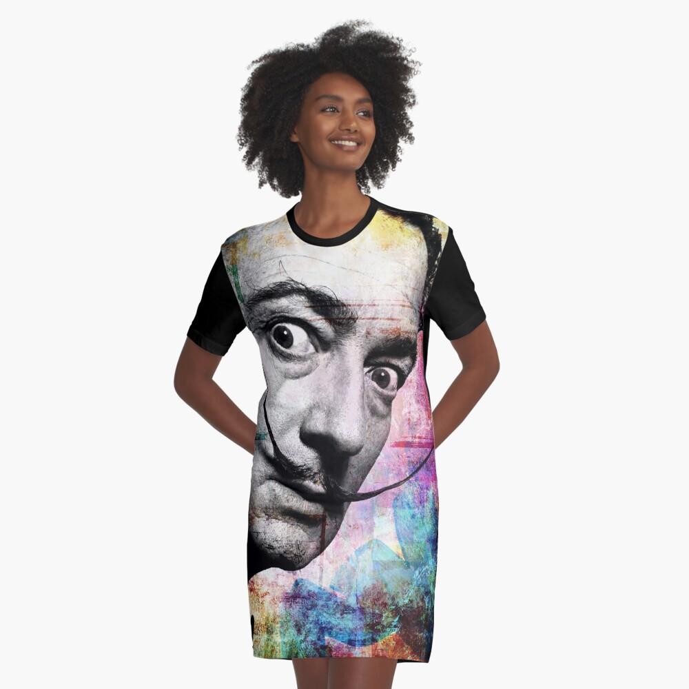 salvador dali Graphic T-Shirt Dress