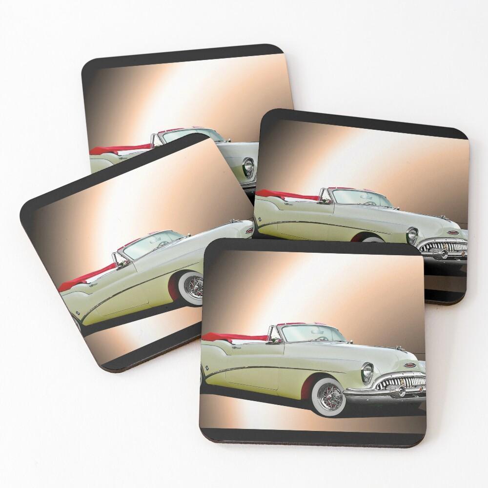 1953 Buick Skylark Convertible Coasters (Set of 4)