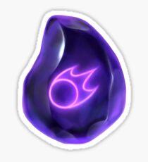 Soul of the Black Mage -black Sticker