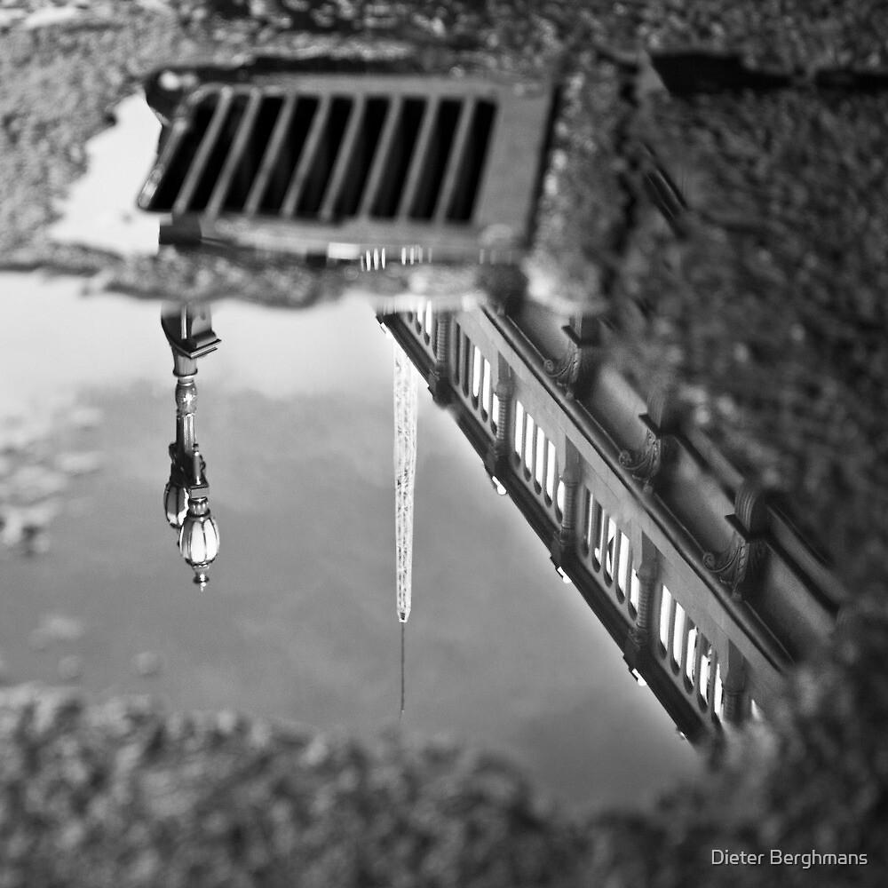 Melbourne Princess Bridge reflected by Dieter Berghmans