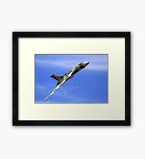 "Avro Vulcan B.2 - XH558 ""Spirit of Great Britain"" Framed Print"