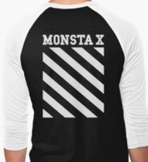 Monsta X Off-White Inspired Logo T-Shirt