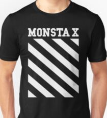 Monsta X Off-White Inspired Logo Unisex T-Shirt