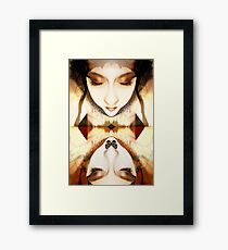 Summoning of the muse Framed Print