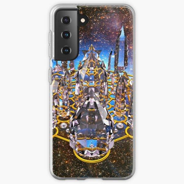 Pleiadian Crystal Stargate Grid Samsung Galaxy Soft Case
