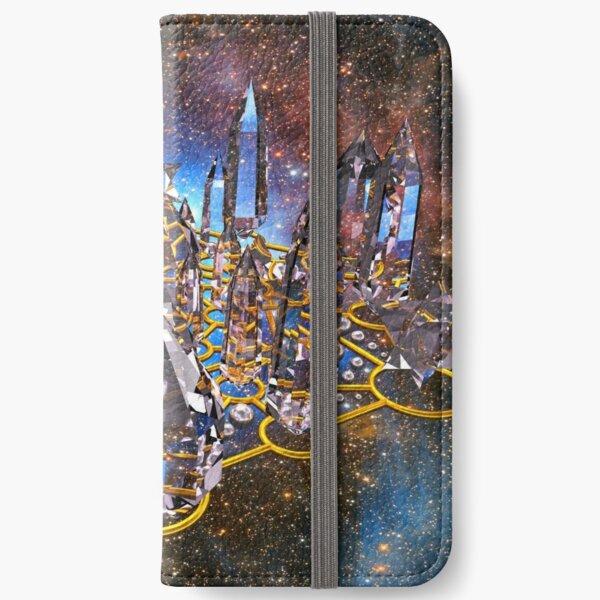 Pleiadian Crystal Stargate Grid iPhone Wallet