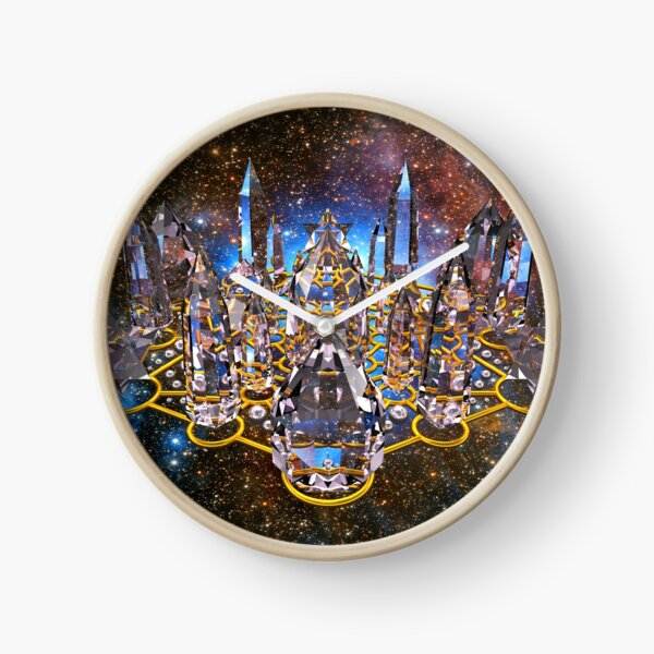 Pleiadian Crystal Stargate Grid Clock