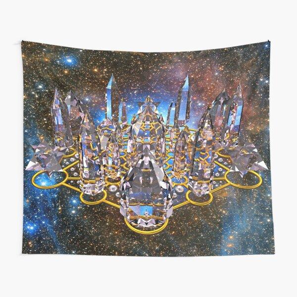 Pleiadian Crystal Stargate Grid Tapestry