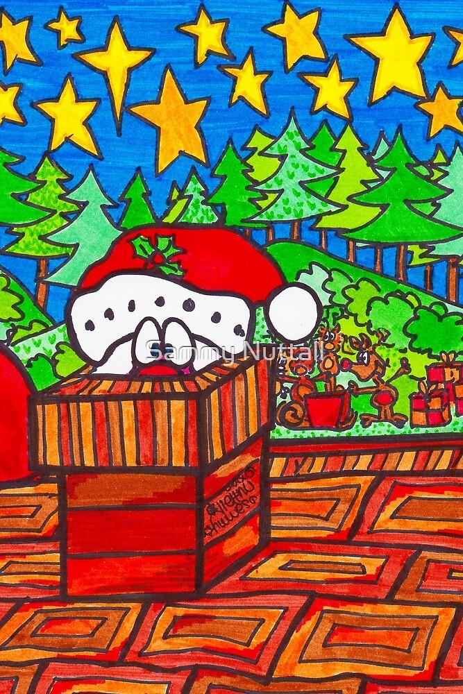 Santa In The Chimney by Sammy Nuttall