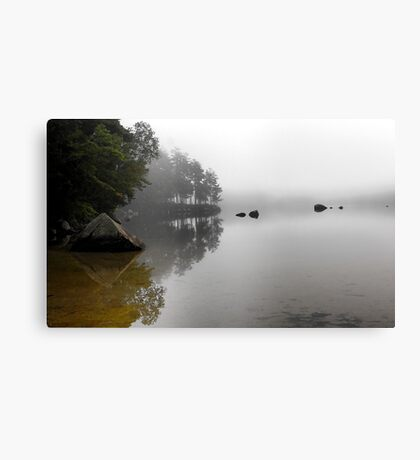 The Stillness - McWain Pond (Waterford,  Maine) Canvas Print