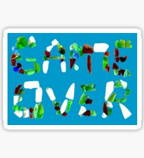 Sea Glass Game Over Sticker