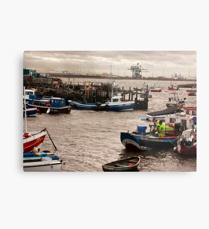 At the Mouth of the River Tees Metal Print