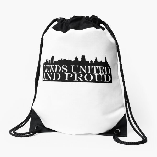 Leeds United Drawstring Bags Redbubble