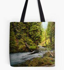 Upper McKenzie River Tote Bag