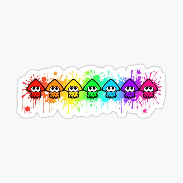 Splatterhouse - RAINBOW INK Sticker