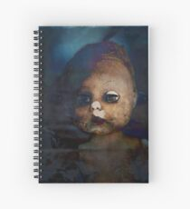 Zombie Doll Spiral Notebook