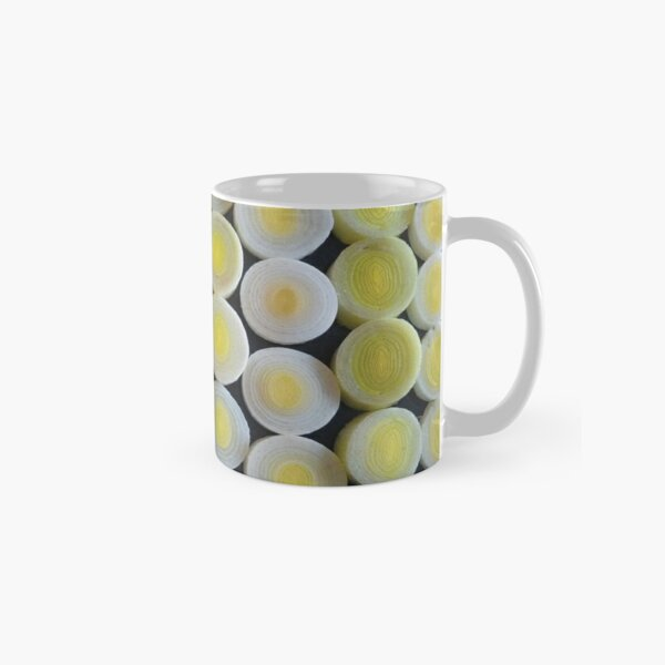 Pattern of leeks-tall mug Classic Mug