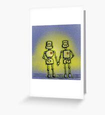 L(ove) E(mitting) D(roids) Greeting Card