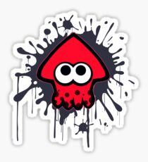 Splatterhouse - Red Squid Sticker