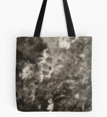 Facing west Lou Campbell Nature Preserve Tote Bag