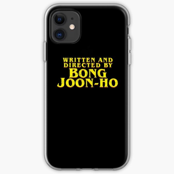 Written and Directed By Bong Joon-Ho iPhone Soft Case
