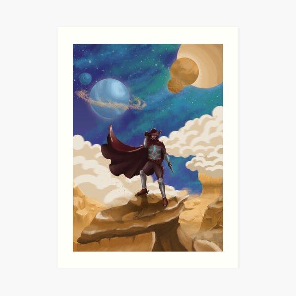 Space Cowboy Impression artistique