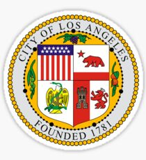Los Angeles City Seal Sticker Sticker