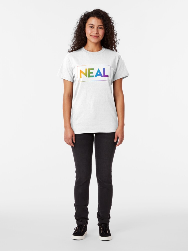 Alternate view of Neal - Pride Edition Classic T-Shirt
