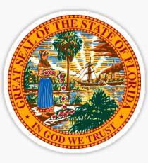 Florida State Seal Sticker Sticker