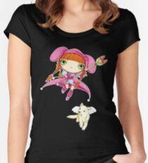 Puppy Guardian Penelope Women's Fitted Scoop T-Shirt
